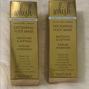 Whish Other - 2 New Whish Exfoliating Foot Mask Fabfitfun